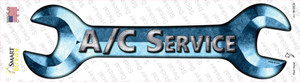 A/C Service Wholesale Novelty Wrench Sticker Decal