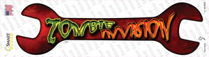 Zombie Invasion Wholesale Novelty Wrench Sticker Decal