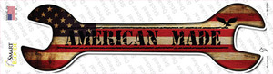 American Made Wholesale Novelty Wrench Sticker Decal