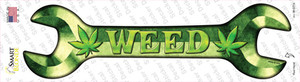 Weed Wholesale Novelty Wrench Sticker Decal