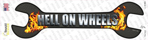 Hell On Wheels Wholesale Novelty Wrench Sticker Decal
