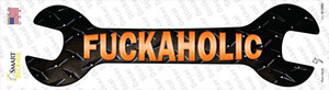 Fuckaholic Wholesale Novelty Wrench Sticker Decal
