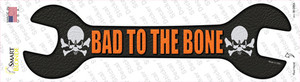 Bad To The Bone Wholesale Novelty Wrench Sticker Decal