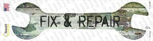 Fix and Repair Wholesale Novelty Wrench Sticker Decal
