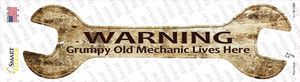 Grumpy Old Mechanic Wholesale Novelty Wrench Sticker Decal