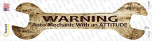 Auto Mechanic Wholesale Novelty Wrench Sticker Decal