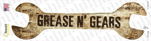 Grease And Gears Wholesale Novelty Wrench Sticker Decal