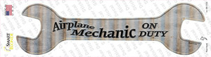 Airplane Mechanic On Duty Wholesale Novelty Wrench Sticker Decal