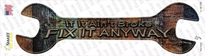 Fix It Anyway Wholesale Novelty Wrench Sticker Decal