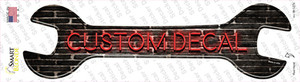 Custom Decal Wholesale Novelty Wrench Sticker Decal