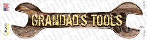 Grandads Tools Wholesale Novelty Wrench Sticker Decal