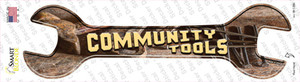 Community Tools Wholesale Novelty Wrench Sticker Decal