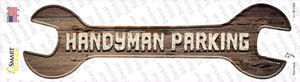 Handyman Parking Wholesale Novelty Wrench Sticker Decal
