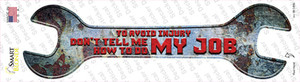 How To Do My Job Wholesale Novelty Wrench Sticker Decal