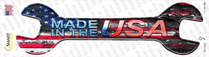 Made In The USA Wholesale Novelty Wrench Sticker Decal