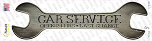 Car Service Wholesale Novelty Wrench Sticker Decal