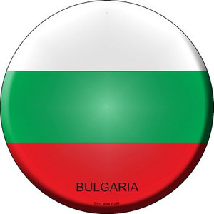 Bulgaria Country Wholesale Novelty Metal Circular Sign