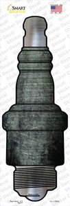 Black Oil Rubbed Wholesale Novelty Spark Plug Sticker Decal