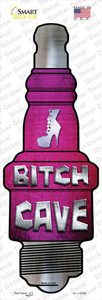 Bitch Cave Wholesale Novelty Spark Plug Sticker Decal