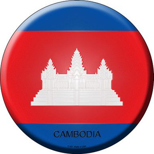 Cambodia Country Wholesale Novelty Metal Circular Sign
