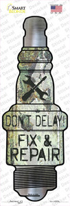 Fix and Repair Wholesale Novelty Spark Plug Sticker Decal