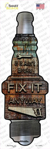 Fix It Anyway Wholesale Novelty Spark Plug Sticker Decal