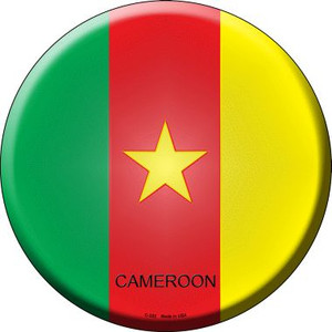 Cameroon Country Wholesale Novelty Metal Circular Sign