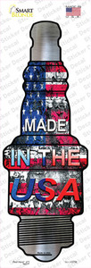 Made In The USA Wholesale Novelty Spark Plug Sticker Decal