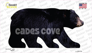 Cades Cove Wholesale Novelty Bear Sticker Decal