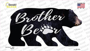 Brother Paw Wholesale Novelty Bear Sticker Decal