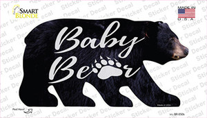 Baby Paw Wholesale Novelty Bear Sticker Decal