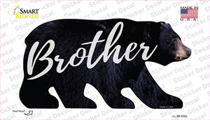 Brother Wholesale Novelty Bear Sticker Decal