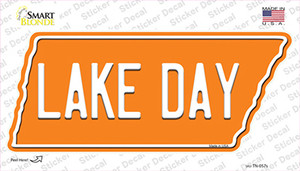 Lake Day Wholesale Novelty Tennessee Shape Sticker Decal