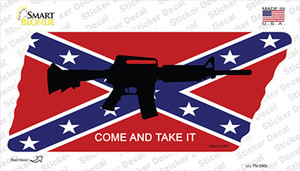 Come and Take It Wholesale Novelty Tennessee Shape Sticker Decal