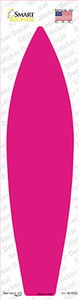 Pink Solid Wholesale Novelty Surfboard Sticker Decal