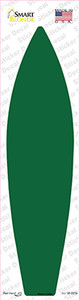 Green Solid Wholesale Novelty Surfboard Sticker Decal