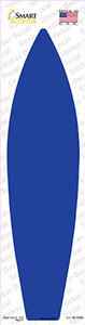 Blue Solid Wholesale Novelty Surfboard Sticker Decal