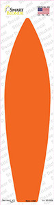 Orange Solid Wholesale Novelty Surfboard Sticker Decal