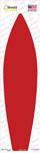 Red Solid Wholesale Novelty Surfboard Sticker Decal