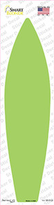 Lime Green Solid Wholesale Novelty Surfboard Sticker Decal