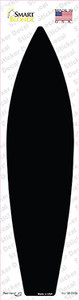 Black Solid Wholesale Novelty Surfboard Sticker Decal