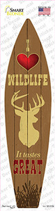 I Love Wildlife Wholesale Novelty Surfboard Sticker Decal