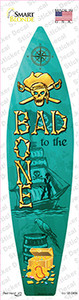 Bad To The Bone Wholesale Novelty Surfboard Sticker Decal