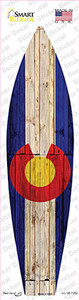 Colorado State Flag Wholesale Novelty Surfboard Sticker Decal