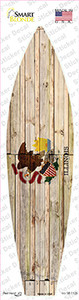 Illinois State Flag Wholesale Novelty Surfboard Sticker Decal