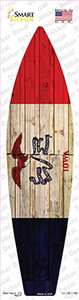 Iowa State Flag Wholesale Novelty Surfboard Sticker Decal