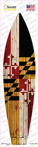 Maryland State Flag Wholesale Novelty Surfboard Sticker Decal