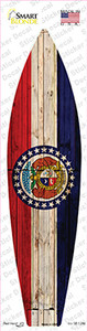 Missouri State Flag Wholesale Novelty Surfboard Sticker Decal
