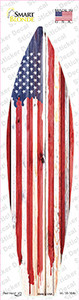 Painted American Flag Wholesale Novelty Surfboard Sticker Decal