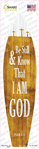 I Am God Psalm 46:10 Wholesale Novelty Surfboard Sticker Decal